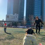 ノンスタ石田、双子の愛娘たちと縄跳びで遊ぶ姿に反響!