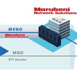 丸紅、ドコモ網を使ったフルMVNOサービスを2月から開始