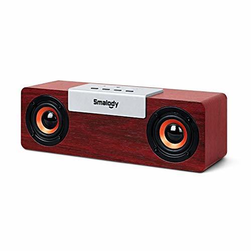 スピーカー PCスピーカー Bluetooth5.0 8W 高音質 大音量 重低音 スマホ/テレビ/PS4適合 AUX/TFカード/USB対応 ステレオ サウンドバー