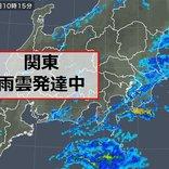 関東 雨のピークは? 午後はスギ花粉にも注意