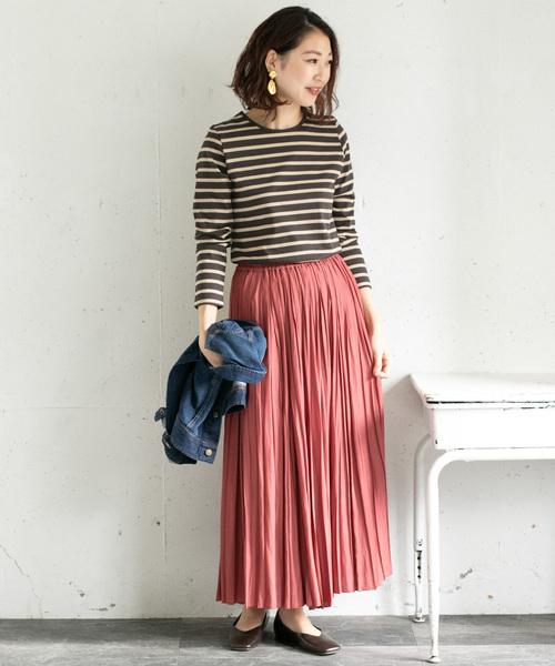 【金沢】6月に最適な服装:スカートコーデ