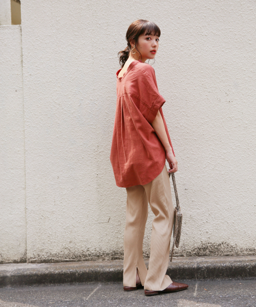 【金沢】6月に最適な服装:パンツコーデ2