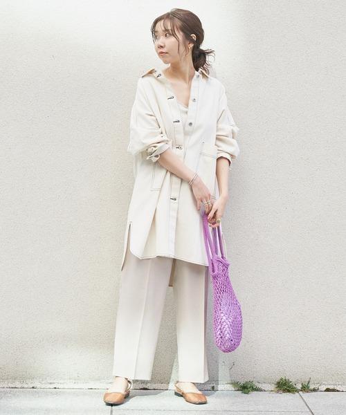 【金沢】6月に最適な服装:パンツコーデ6