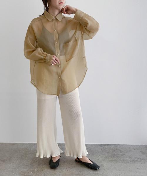 【金沢】6月に最適な服装:パンツコーデ9