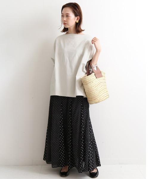 30代女子におすすめな大人のドット柄スカート