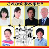 実写『浦安鉄筋家族』、水野美紀・坂田利夫ら大沢木家キャスト決定