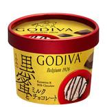 ゴディバ  アイス「黒蜜とミルクチョコレート」- コンビニに数量限定で登場