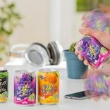 ゼリー炭酸飲料「ぷるっシュ!!」に春夏の新商品 3つのフレーバーを楽しもう!