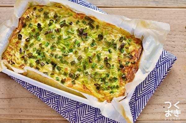 絶品レシピに!長芋キャベツのオーブン焼き