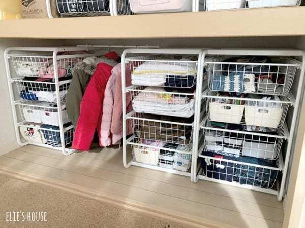 子供服のクローゼット収納アイデア《IKEA》5