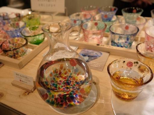 青森びいどろ ガラス 酒器 とっくり ちょこ 大日本市 中川政七商店