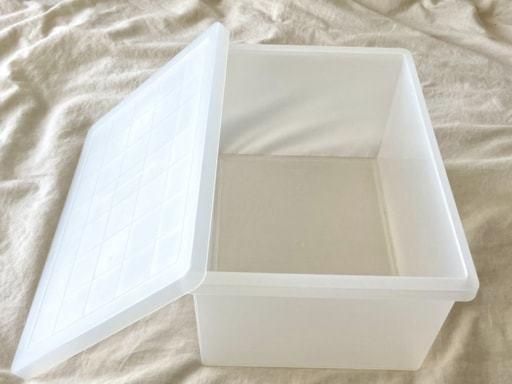 無印のキャリーボックス