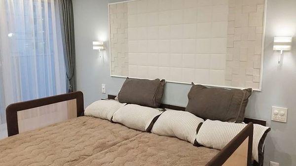 地中海風の寝室インテリアコーディネート3