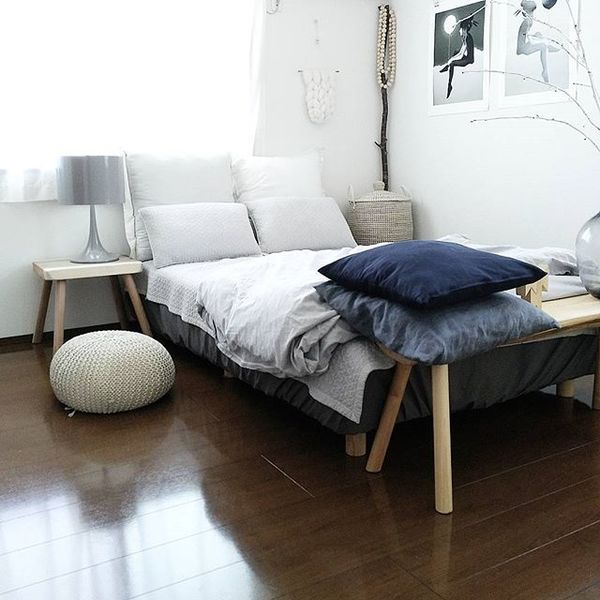 地中海風の寝室インテリアコーディネート4