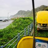海を眺めながらサイクリング!台湾海辺の観光地・八斗子で「深澳レールバイク」に乗ってみた【台湾】