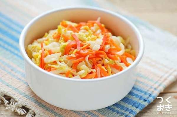 焼き魚の献立に!白菜と人参の和風マヨサラダ