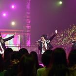 『UTAGE!』MAX、ミニスカ衣装でAKB48「ヘビロテ」冠コピ