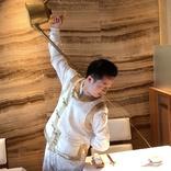 なんてカッコいいお茶のいれ方! 中国料理店に入ったらスタッフのお茶パフォーマンスがキレキレで度肝を抜かれた / 動画あり