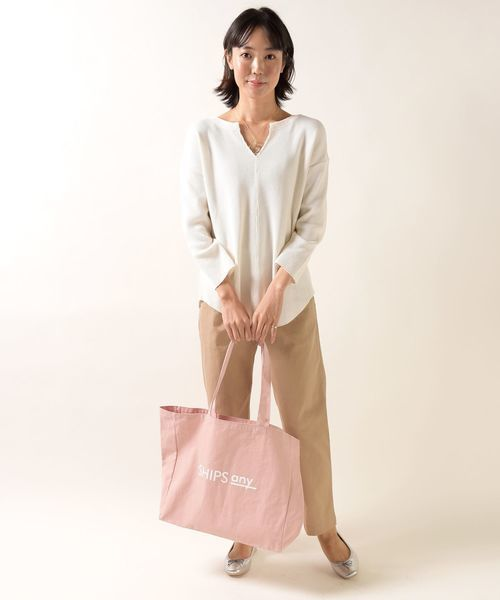 [SHIPS for women] SHIPS any:FOOD TEXTILE トートバッグ