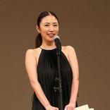 助演女優賞・MEGUMI 初の演技賞に感無量「子供ができた時に女優になりたいと」