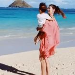 吉川ひなの、息子とのプライベート動画を公開 「愛激しめ!」