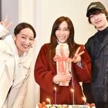 山口紗弥加、『シロクロ』現場で誕生日祝い「幸せになります!」
