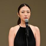 MEGUMI、大人の肩出しドレスで魅了! グラビアから女優で「初めて大きな賞」