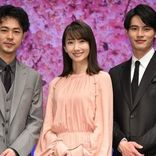 岡田健史、初めての映画舞台挨拶で耳真っ赤「今、緊張しています」