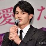 岡田健史、初の映画舞台挨拶に緊張 「耳真っ赤」とツッコまれる<弥生、三月-君を愛した30年->