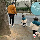 ノンスタ石田「長生きしたいです」40歳誕生日に愛娘たちとの写真公開、祝福コメント相次ぐ