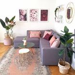 お部屋が華やかで素敵になる♡【ピンクカラー】をプラスしたインテリアがおしゃれ!