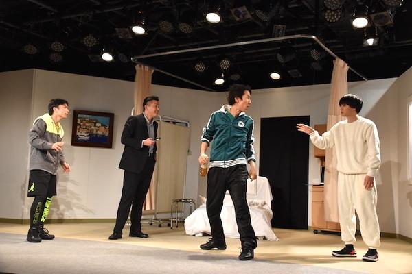 舞台『夜明け~spirit~』のゲネプロの様子