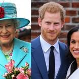 """英エリザベス女王、ヘンリー王子夫妻に""""ROYAL""""の使用を禁止か"""
