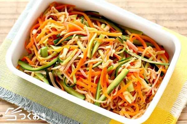 もう一品!切り干し大根の中華風サラダ