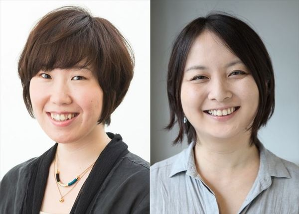 現代能楽集Ⅹ『幸福論』(左から)長田育恵、瀬戸山美咲