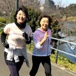 たんぽぽ川村、増田明美さんと笑顔の2ショット フルマラソン参加できずも「走り続けてみようかな」