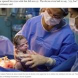 """誕生したばかりの""""強面すぎる""""赤ちゃんにSNS沸く(ブラジル)<動画あり>"""