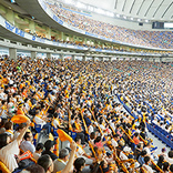 東京ドームの立ち見エリアがルール変更 ……シートなどでの場所取りが全面禁止に