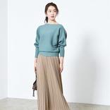 上品でスタイルアップも叶えてくれる♪ベージュのプリーツスカートの春コーデ15選
