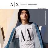 山崎賢人、躍動感ある動きも  「アルマーニ エクスチェンジ」春夏ビジュアル公開