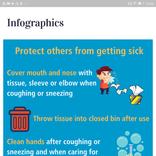 新型コロナウイルスの対策方法をインフォグラフィックスでチェックできるAndroidアプリ【今日のライフハックツール】