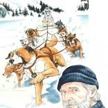 ハリソン・フォード『野性の呼び声』、『銀牙』シリーズの高橋よしひろが描く迫力ポスター公開