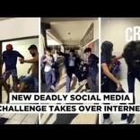 「頭蓋骨破壊チャレンジ」流行で米医師が警告「死に至ることもあり得る」<動画あり>