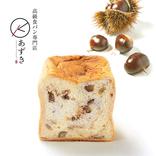 高級食パン専門店「あずき」から新作「KURI食パン」が新発売。栗ゴロゴロだよ