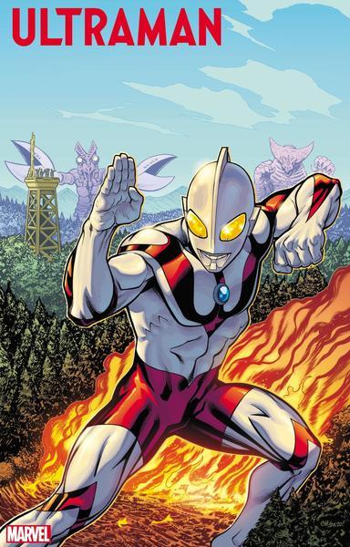 Ultraman artwork by Ed McGuinness and Matthew Wilson (C)TSUBURAYA PRODUCTIONS CO., LTD.