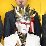 デーモン閣下、白衣姿を褒められ照れ笑い 「厚労省関係でしか着たことがない」