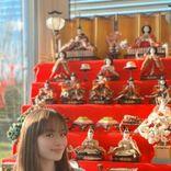 サクラ・キルシュ、ひな祭りに実家の超本格的な雛飾りを披露