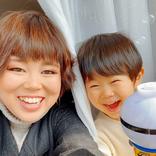 ブルゾンちえみ、親友の子供との写真に「まるで親子」