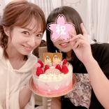 辻希美、中学生になる長女とひな祭りケーキ囲んだ2SHOT公開「これからもスクスク成長して…」