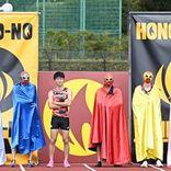 "KAT-TUN上田率いるジャニーズ陸上部、現役最強""マスクマン""とガチ対決"